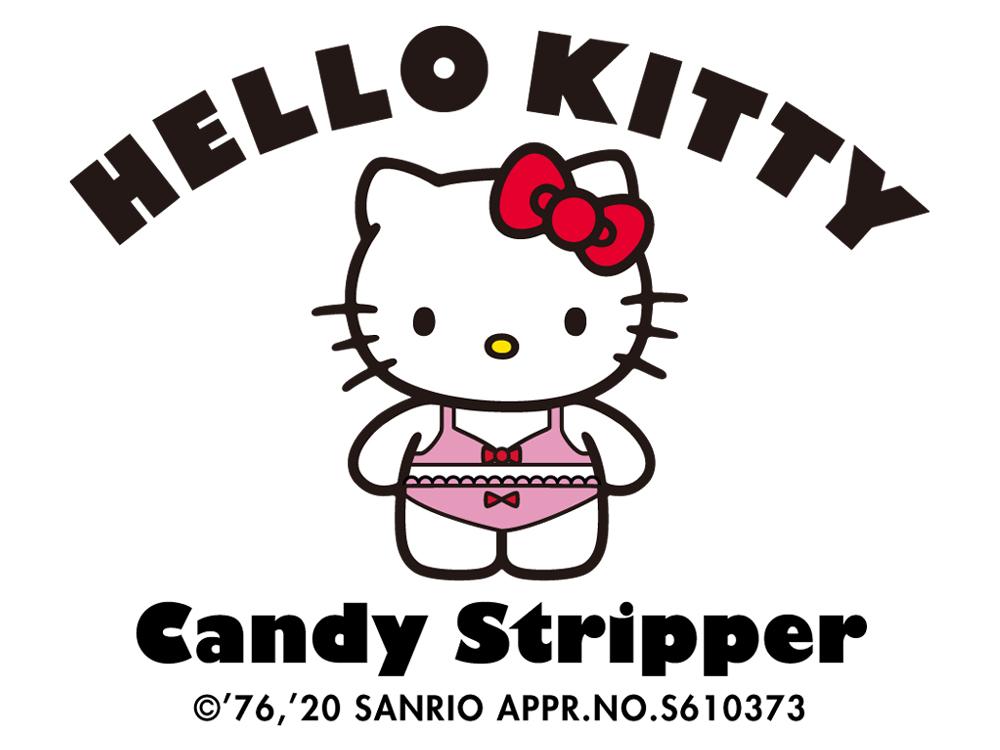 HELLO KITTY×Candy Stripper コラボアイテムいよいよ発売開始!