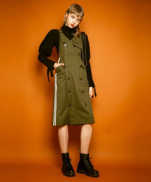 TRENCH JUMPER SKIRT