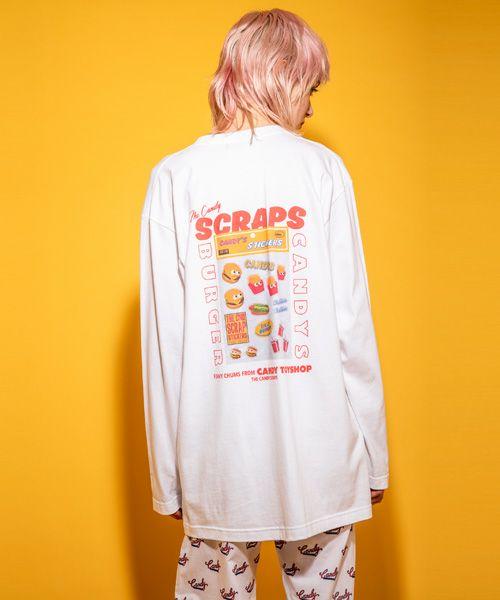 CANDY SCRAPS L/S TEE