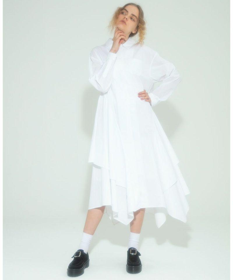 FLARE SHIRT DRESS