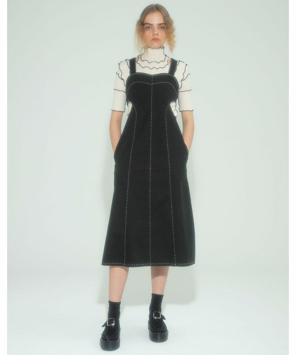 THICK STITCH TIGHT DRESS