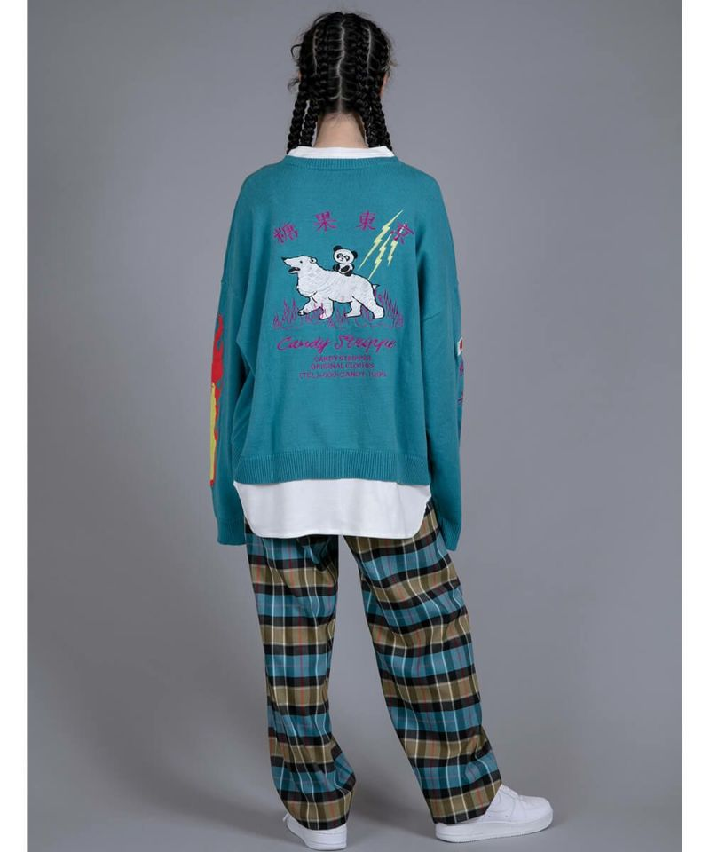 CANDY SOUVENIR EMBROIDERY KNIT