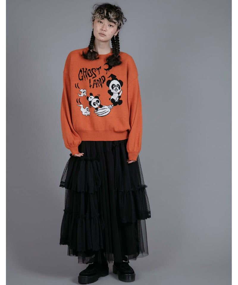 GHOST LAND KNIT