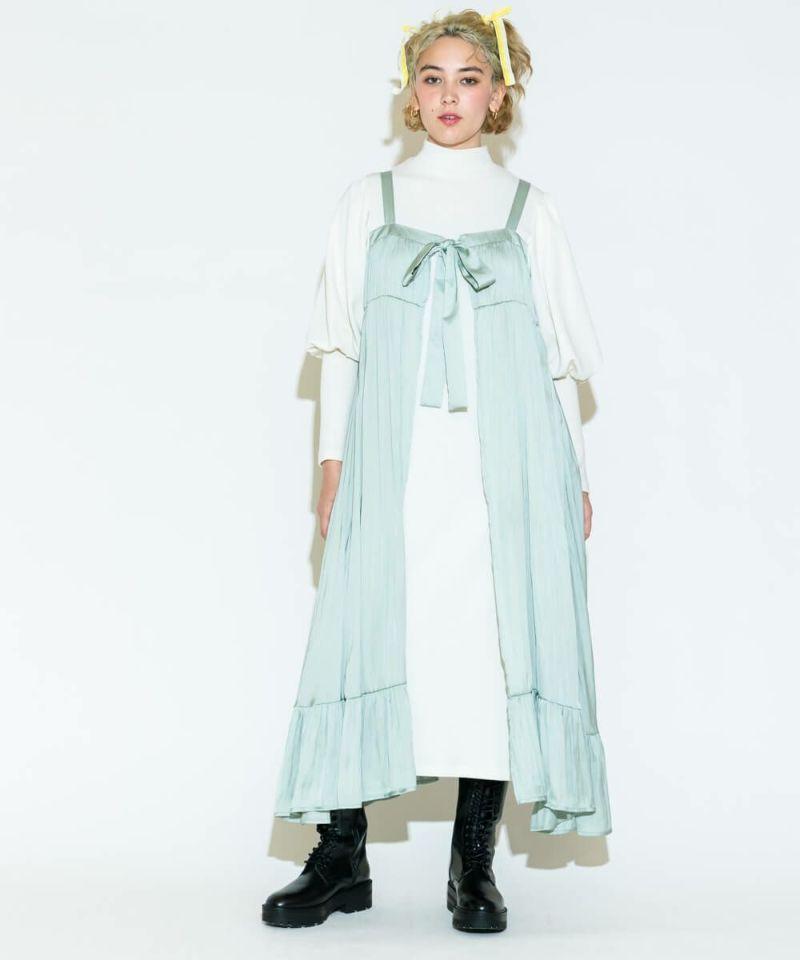 LINGERIE LAYERED DRESS