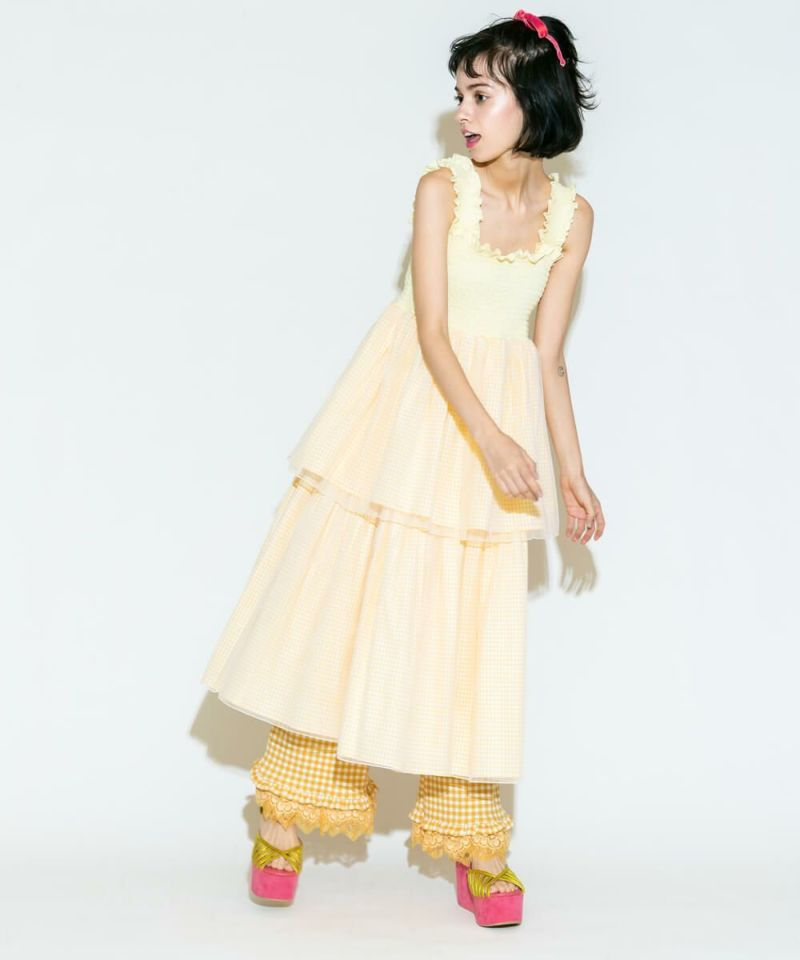 HOLIDAY TIERED DRESS