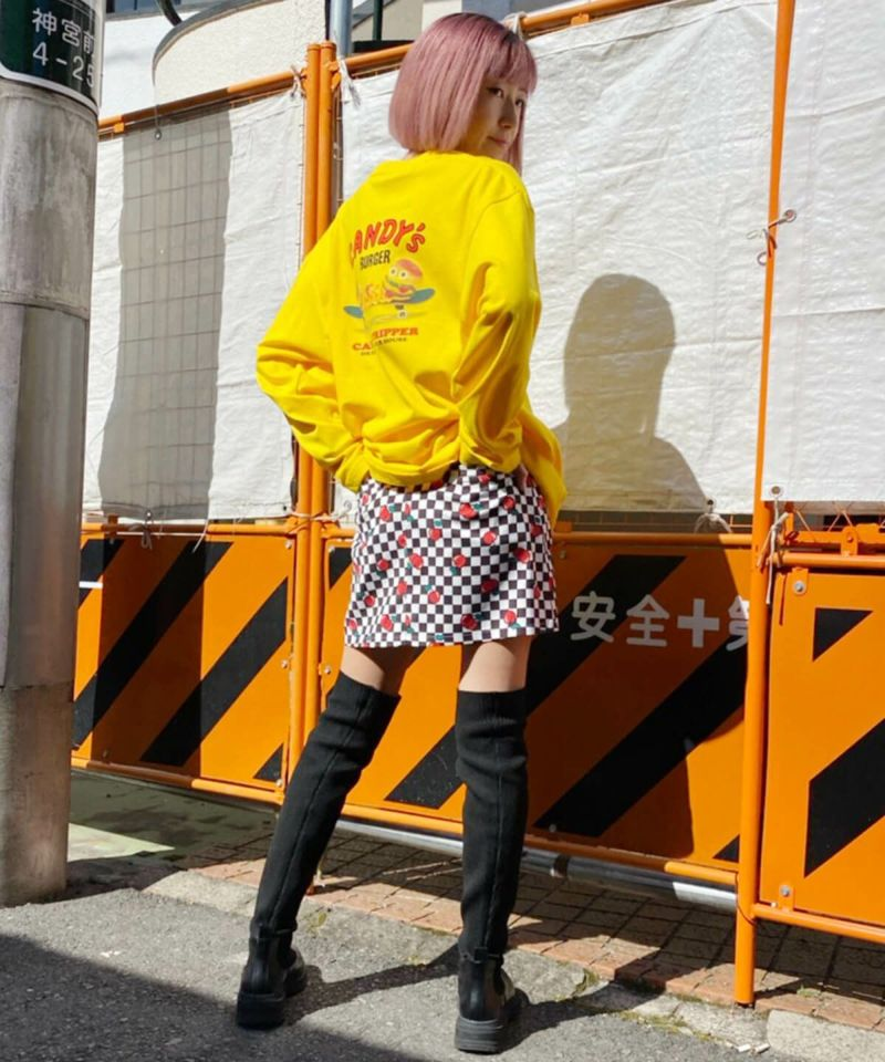CANDY'S BURGER L/S TEE
