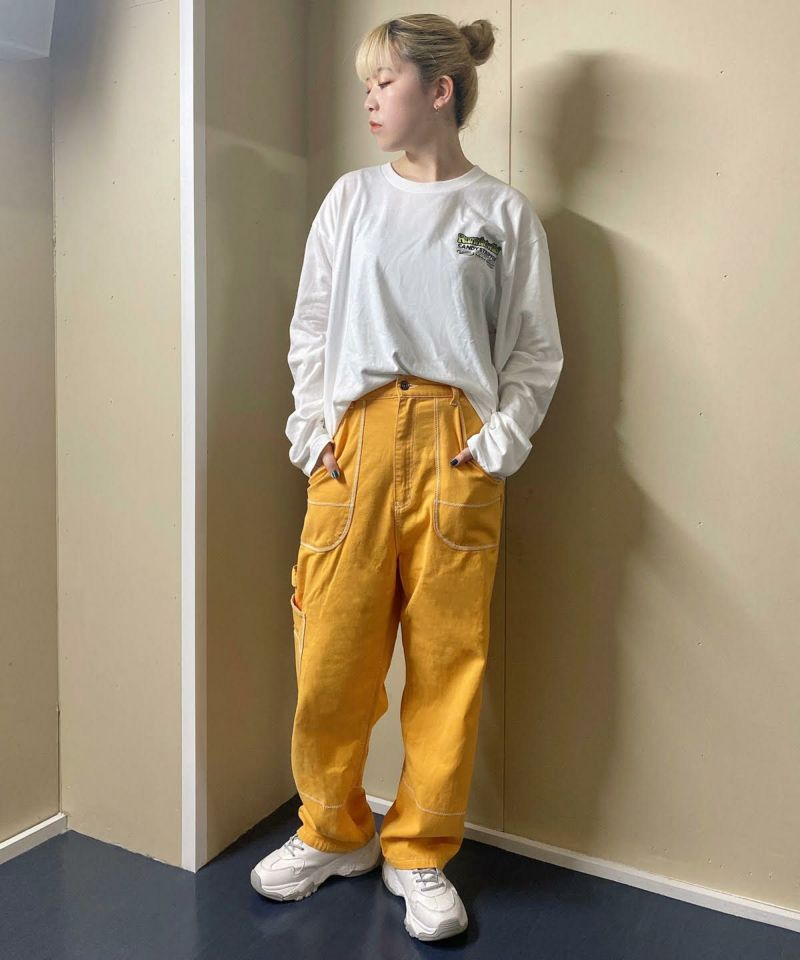 5 POCKET TAPERED PANTS